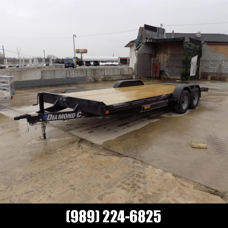 """New Diamond C Trailers 82"""" x 20' Open Car Hauler - $0 Down & Payments From $99/mo. W.A.C."""