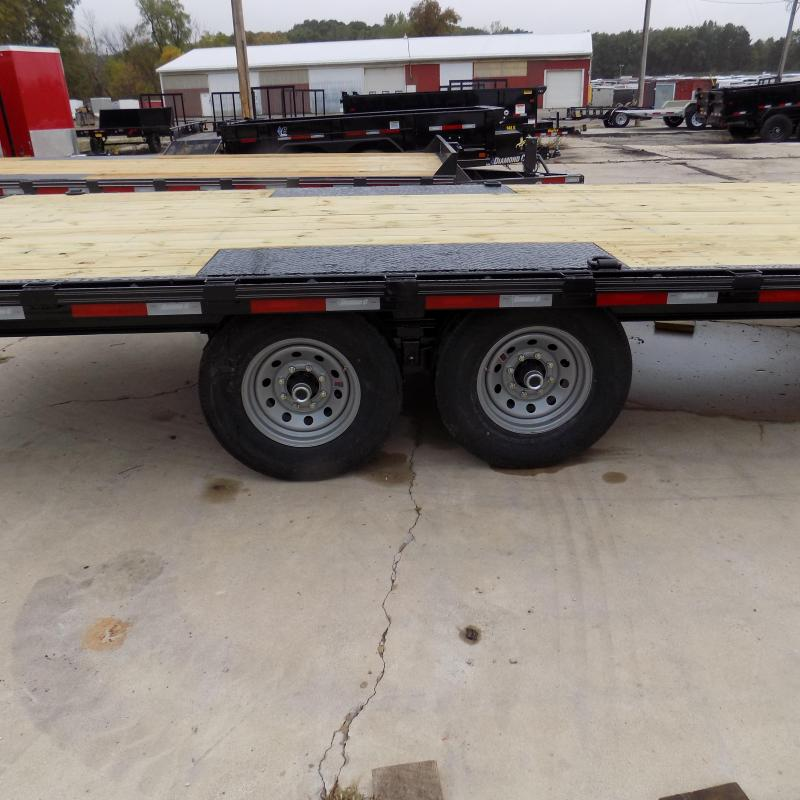 """New Diamond C Trailers 102"""" x 20' Deckover Equipment Trailer For Sale - Payment From $115/mo. With $0 Down W.A.C."""