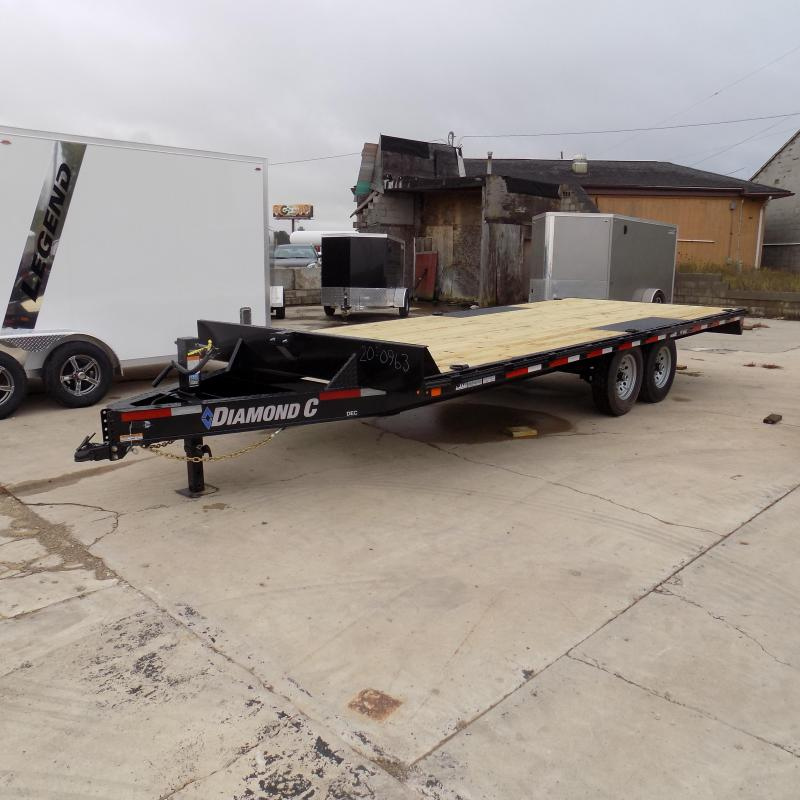 "New Diamond C Trailers 102"" x 20' Deckover Equipment Trailer For Sale - Payment From $115/mo. With $0 Down W.A.C."