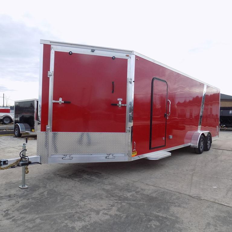 New Legend Explorer 7' x 29' Aluminum Snowmobile Trailer For Sale