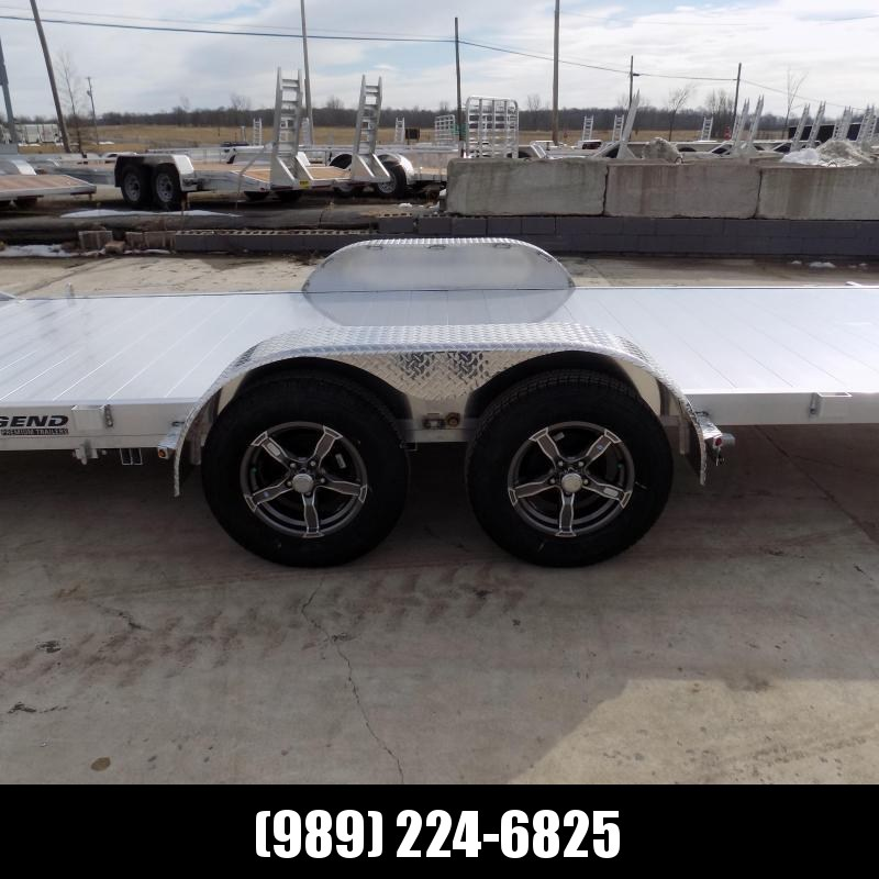 New Legend 7' x 20' Aluminum Tilt Deck Car Hauler - $0 Down & Payments From $129/mo. W.A.C.