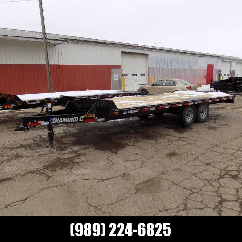 """New Diamond C Trailers 102"""" x 20' Deckover Equipment Trailer For Sale - Payment From $113/mo. With $0 Down W.A.C."""