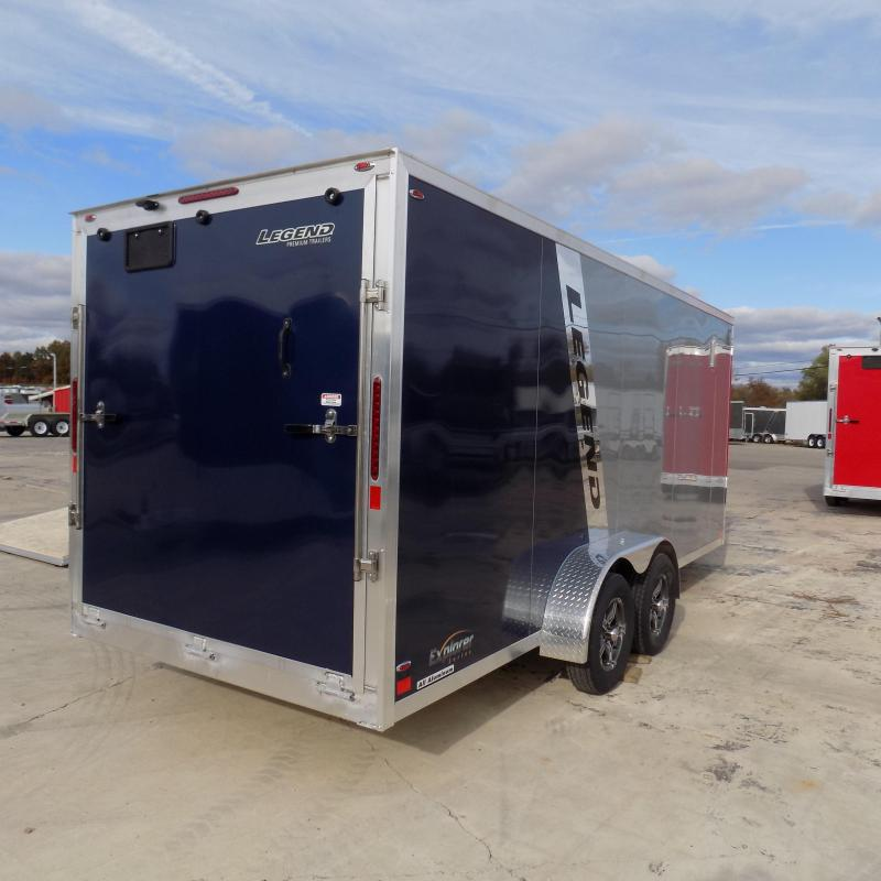 New Legend Explorer 7' x 23' Snowmobile Trailer - $0 Down & Payments From $149/mo. W.A.C - Guaranteed Best Deal