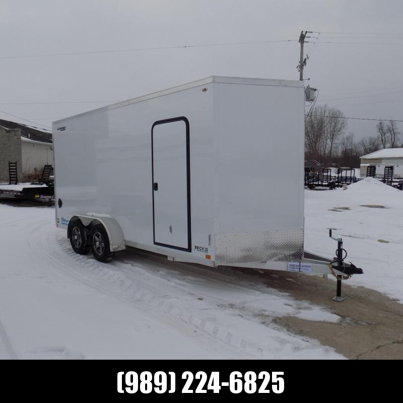 New Legend Thunder 7' x 18' Aluminum Enclosed Cargo Trailer For Sale