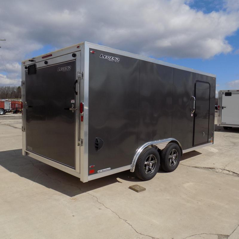 New Legend FTV 8' x 19' Heavy Duty Aluminum Trailer - Professional Grade 8' Wide Trailer - $0 Down Financing Available
