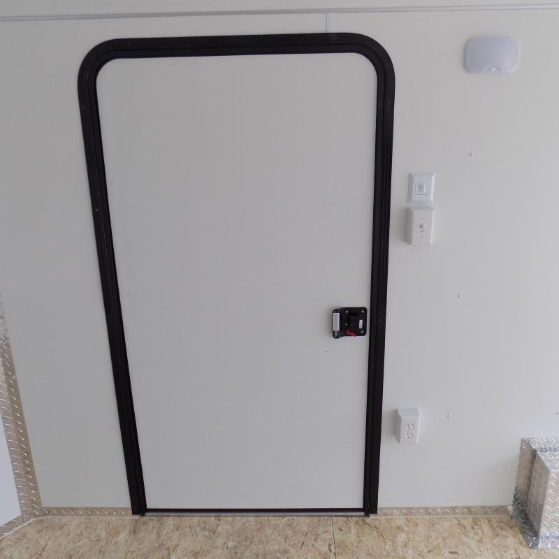 New Legend Deluxe V-Nose 8' x 19' Enclosed Cargo Trailer - Payment from $149/mo. W.A.C - Best Deal Guarantee