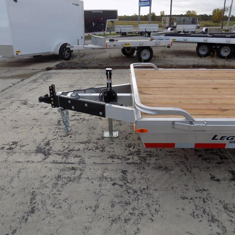 New Legend 7' x 18' Aluminum Equipment Trailer With 11,960# Payload Capacity - $0 Down & Payments from $135/mo. W.A.C.