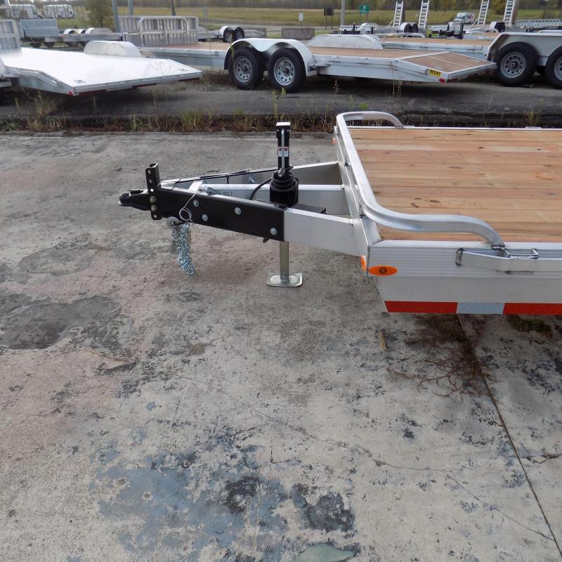 New Legend 7' x 20' Aluminum Equipment Trailer For Sale - Payment from $139/mo. W.A.C - Best Deal Guarantee