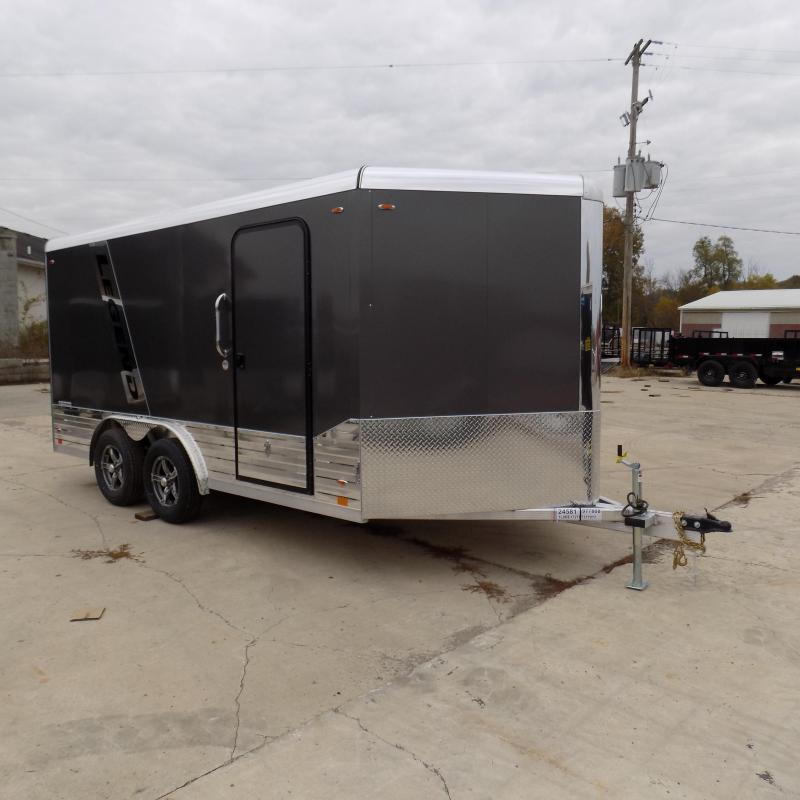 New Legend Deluxe V-Nose 8' x 17' Enclosed Cargo Trailer - $0 Down & Payments From $119/mo. W.A.C