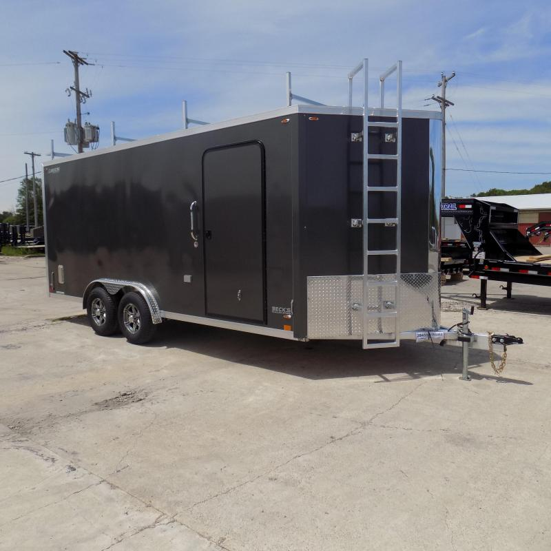 New Legend FTV 8' x 21' Heavy Duty Aluminum Contractor Trailer - Professional Grade 8' Wide Trailer - $0 Down Financing Available