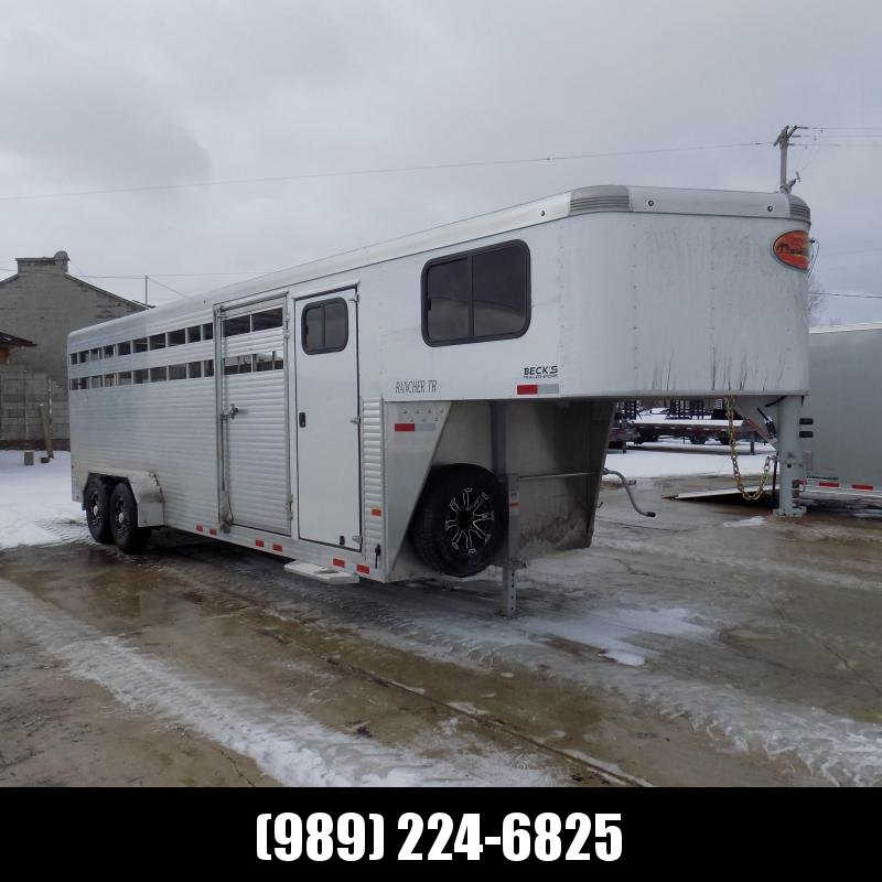 New Sundowner Trailers 24' Aluminum Stock Trailer With Tack Room - $0 Down Financing Available