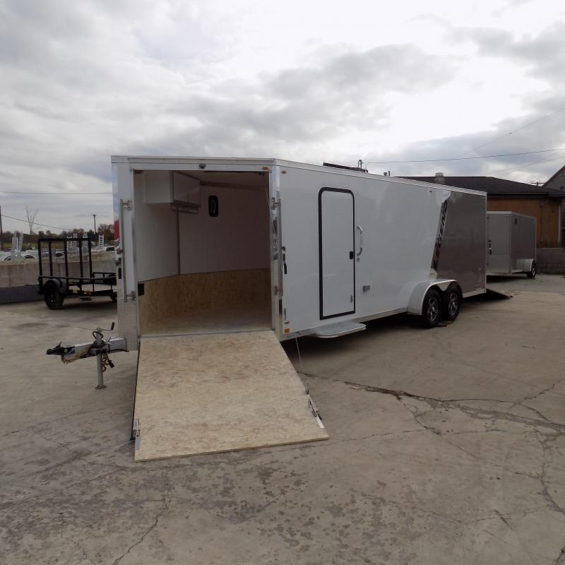 New Legend Explorer 7' x 27' Snowmobile Trailer - $0 Down & Payments From $153/mo. W.A.C - Guaranteed Best Deal