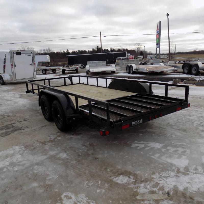 """New Load Trail 83"""" x 16' Tandem Axle Open Utility Trailer for Sale - $0 Down & Payments $69/mo. W.A.C"""