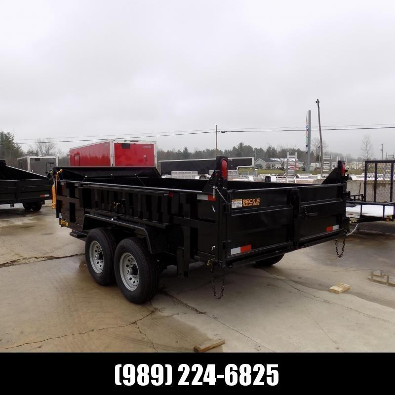 New DuraDump 7' x 14' Dump Trailer For Sale - $0 Down & Payments From $129/mo. W.A.C. - CLEARANCE UNIT - NOT SUBSTITUATIONS