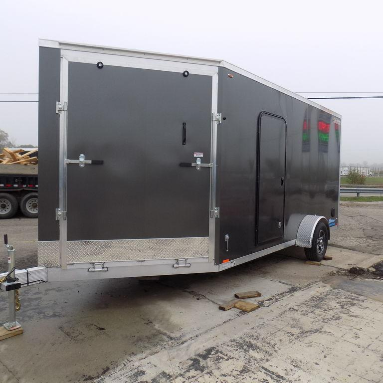 New Legend Thunder 7' x 19' Aluminum Snow / ATV Trailer For Sale