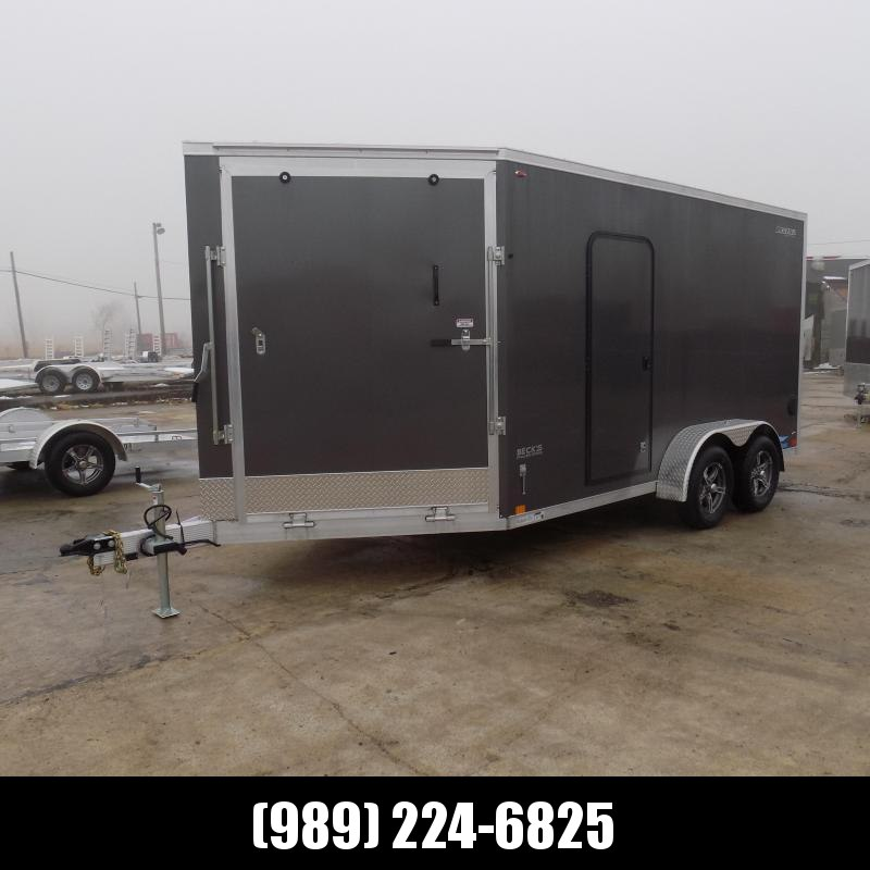 New Legend Thunder 7' x 19' Aluminum Snowmobile Trailer - $0 Down & Payments From $149/mo. W.A.C. - Best Deal Guarantee