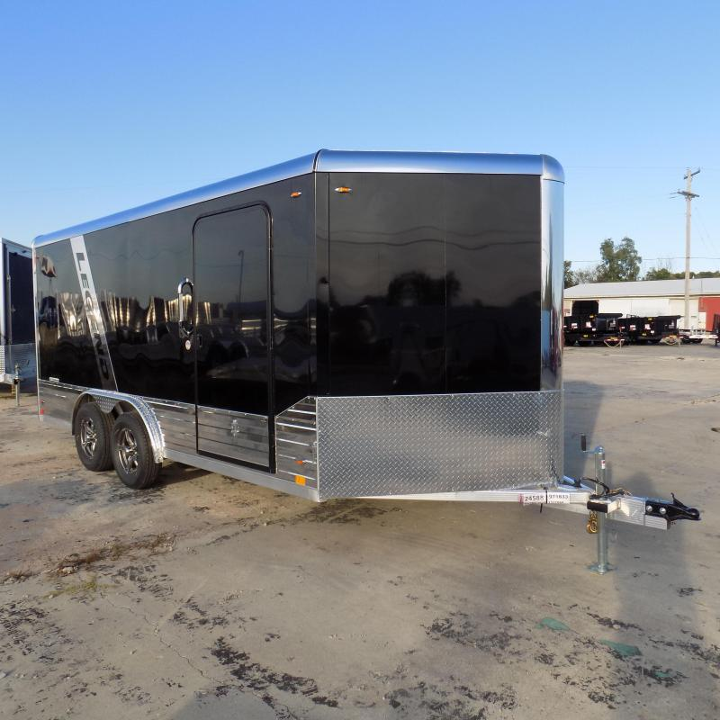 New Legend Deluxe V-Nose 8' x 19' Enclosed Cargo Trailer - $0 Down & $128/mo. W.A.C.