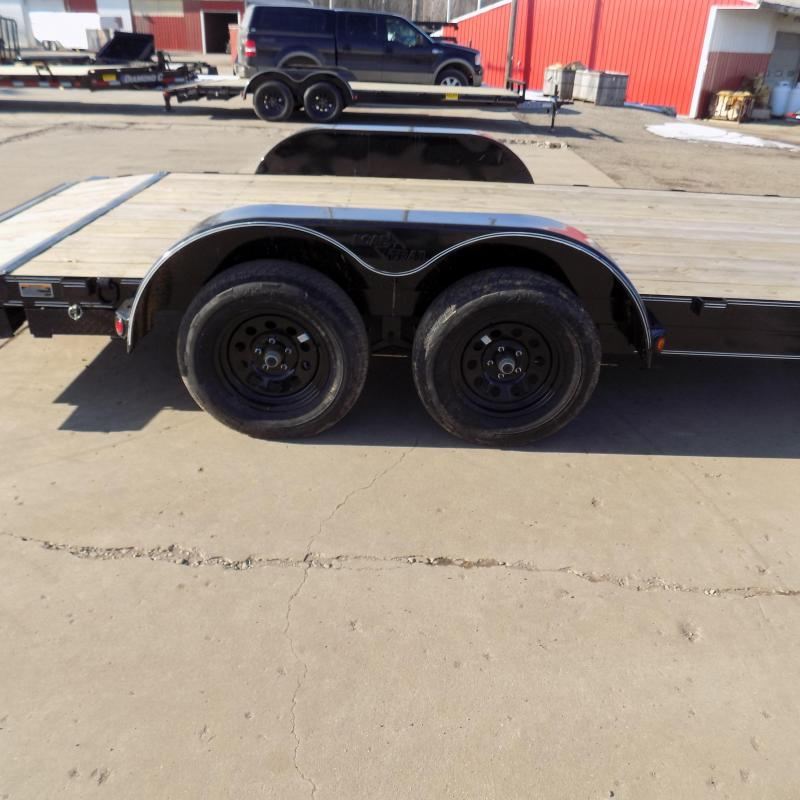 "New Load Trailer 83"" x 18' Car Hauler Trailer For Sale - $0 Down & Payments from $69/mo. W.A.C."