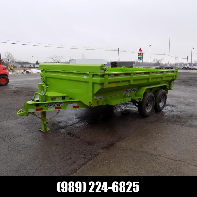 """New Load Trail 83"""" x 14' Dump Trailer - Flared Sides - Payments from $129/mo. with $0 Down W.A.C."""