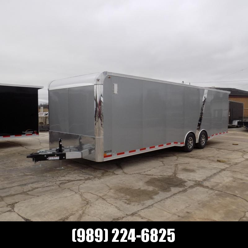 New Legend Trailmaster 8.5' x 28' Aluminum Race Series Trailer With 7K Torsion Axles - $0 Down Financing Available!