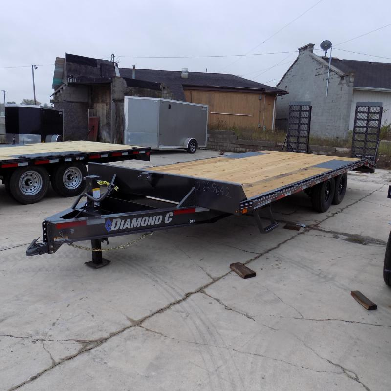 "New Diamond C Trailers 102"" x 22' Deckover Equipment Trailer For Sale - Payment From $119/mo. With $0 Down W.A.C."