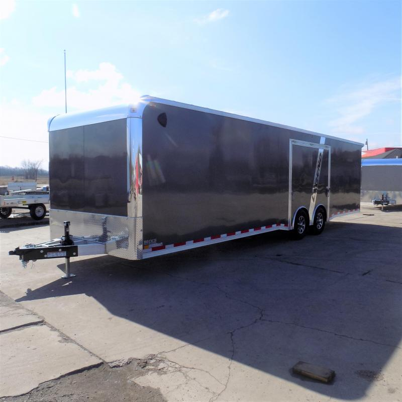 New Legend Trailmaster 8.5' x 32' Aluminum Race Series W/ 7000# Torsion Axles & Escape Door - $0 Down Financing Available