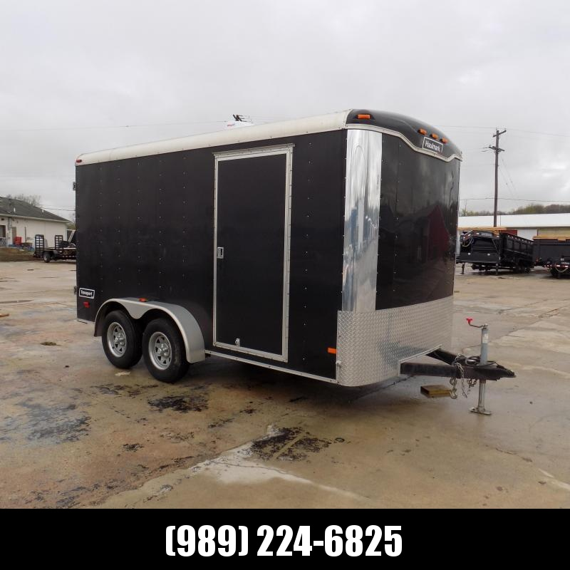 Used Haulmark 7' x 14' Enclosed Cargo Trailer - Very Clean & Well Maintained!
