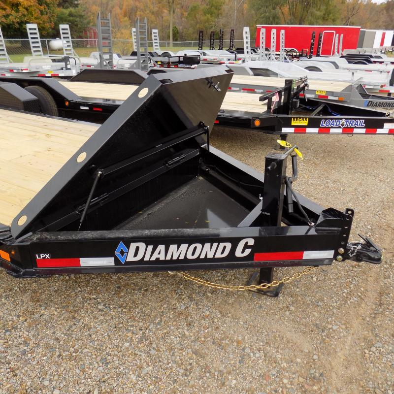 """New Diamond C Trailers 82"""" x 20' Low Pro Equipment Trailer For Sale - $0 Down & Payments from $149/mo. W.A.C."""