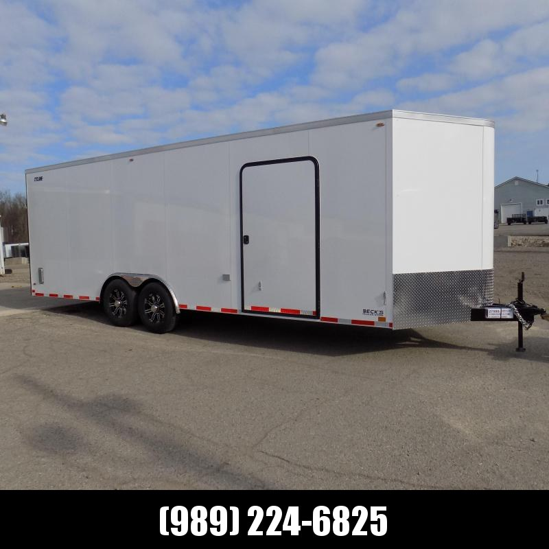 New Legend Cyclone 8.5' x 26' Enclosed Car Hauler Trailer With 7K Torsion Axles - $0 Down Payments From $145/Mo W.A.C