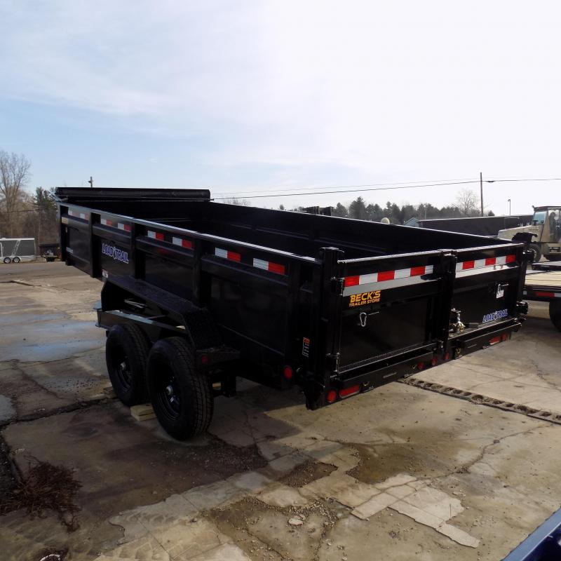 "New Load Trail 83"" x 16' Dump Trailer For Sale - $0 Down & Payments From $125/mo. W.A.C."