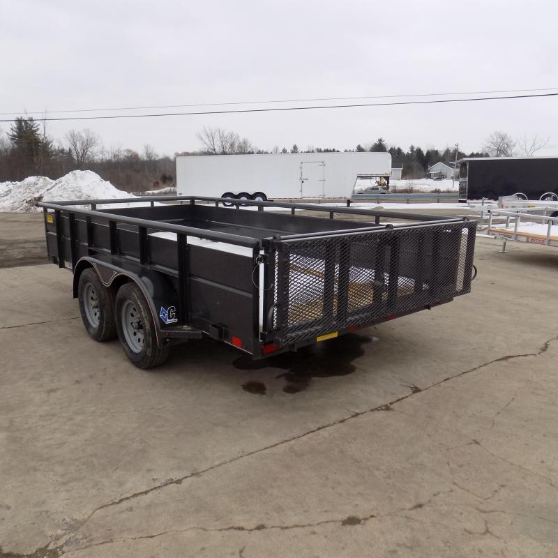 """New Diamond C 83"""" x 14' High Side Utility Trailer - $0 Down & Payments From $99/mo. W.A.C. - Best Deal Guarantee!"""
