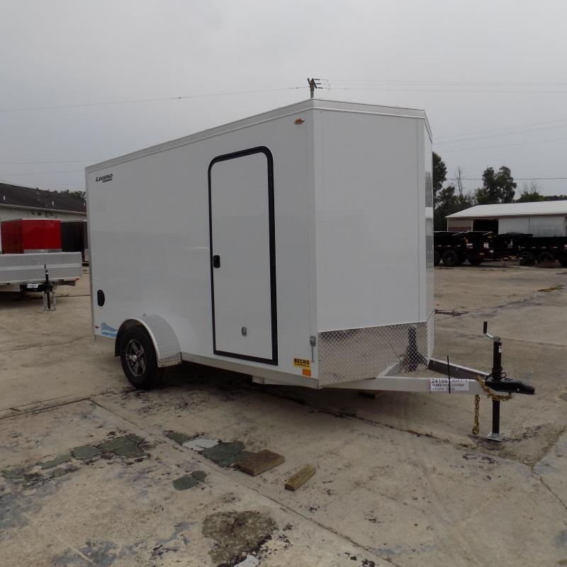 New Legend Thunder 6' x 13' Aluminum Enclosed Cargo Trailer for Sale - Payments from $69/mo. W.A.C
