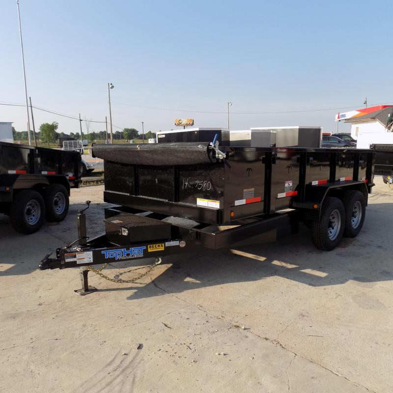 "New Top Hat Trailers 83"" x 14' Dump Trailer For Sale - CLEARANCE UNIT - NO SUBSTIUTIONS"