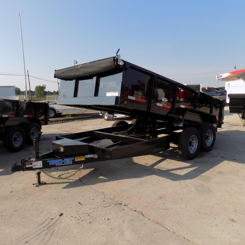 "New Top Hat Trailers 83"" x 14' Dump Trailer For Sale"