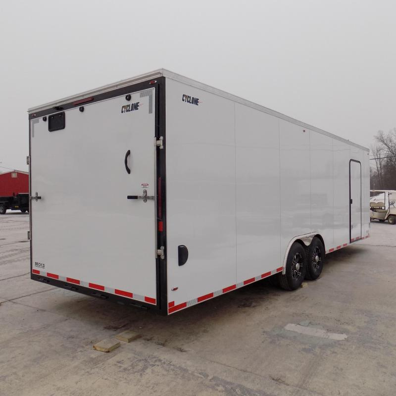 New Legend Cyclone 8.5' x 28' Enclosed Cargo Trailer for Sale- $ 0 Down Payments From $143/mo W.A.C.