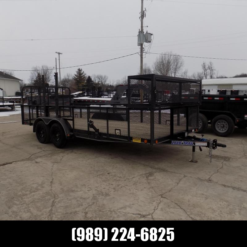 "New Load Trail 83"" x 18' Landscape Trailer For Sale- $0 Down $109/mo W.A.C."