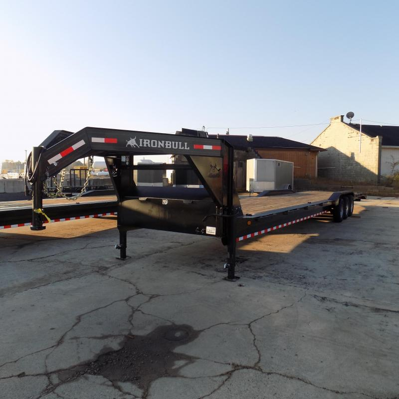 "New Iron Bull 102"" x 44' Car / Equipment Trailer  - $0 Dwon & Payments From $147/mo. W.A.C. - Best Deal Guarantee"