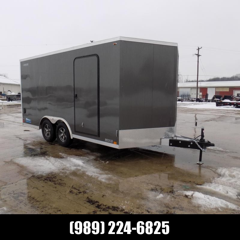 New Legend Thunder 8.5' X 18' All Aluminum Enclosed Cargo Trailer- $0 Down Payments From $113/mo W.A.C.