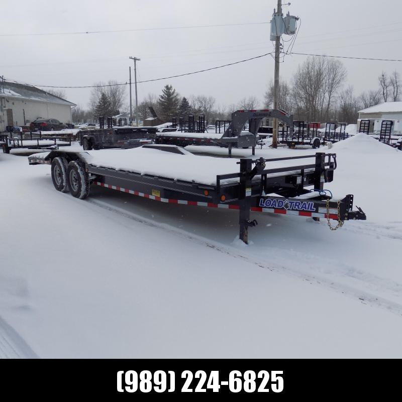 """New Load Trail 102"""" x 24' Open Car/Equipment Trailer For Sale- $0 Down Payments From $139/.o W.A.C."""