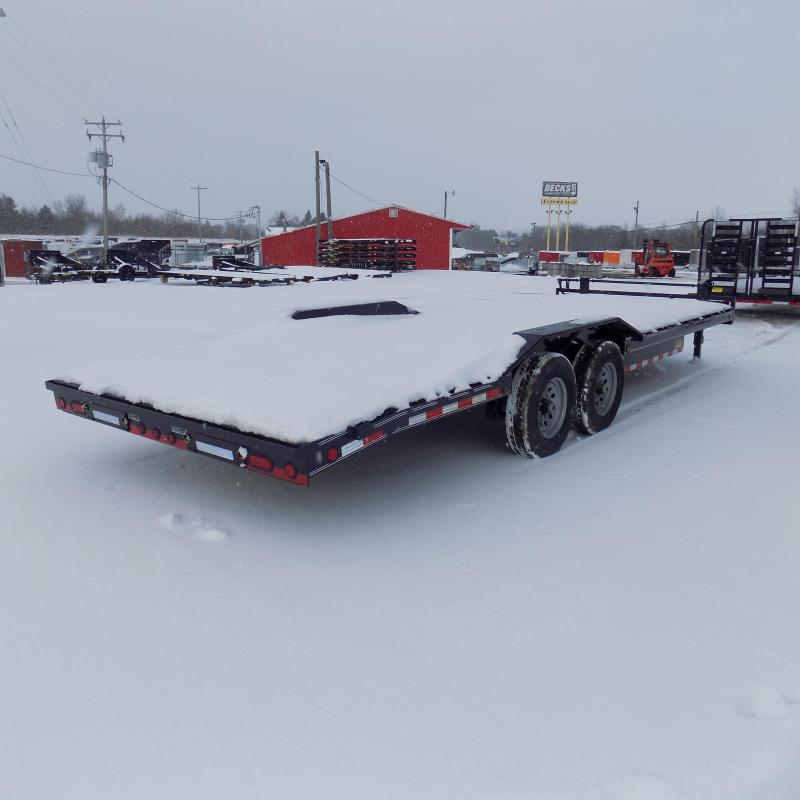 "New Load Trail 102"" x 24' Open Car/Equipment Trailer For Sale- $0 Down Payments From $139/.o W.A.C."