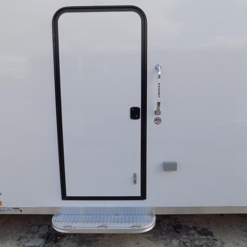 New Legend Explorer 7' x 29' Snowmobile Trailer - $0 Down & Payments From $159/mo. W.A.C - Guaranteed Best Deal