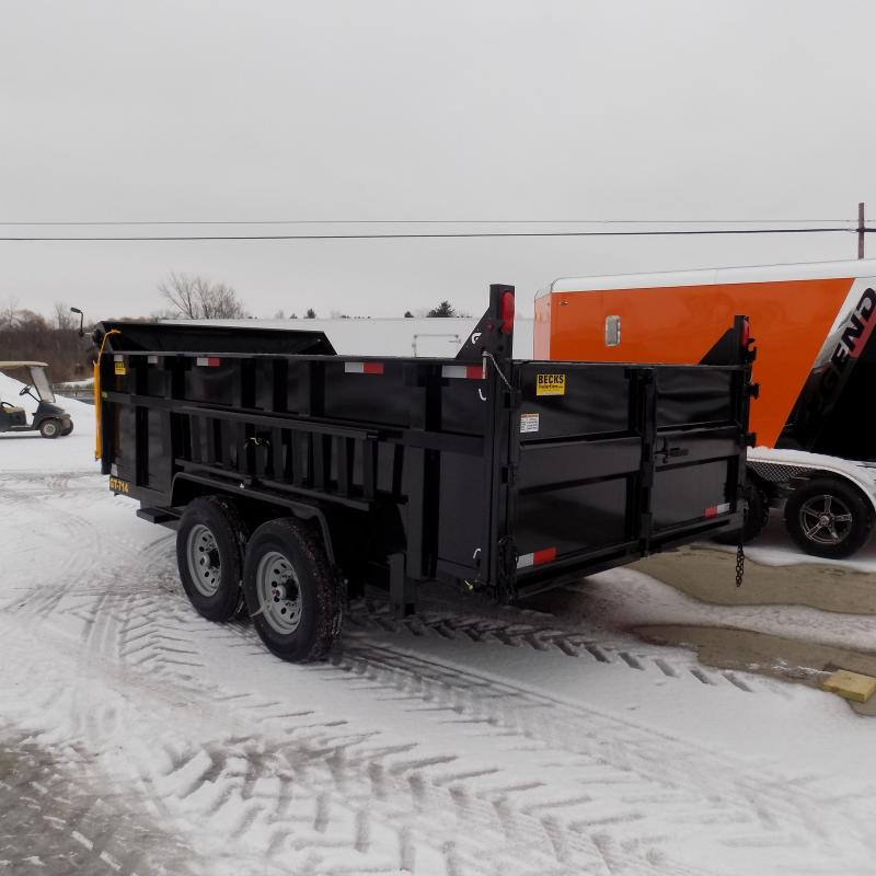 "New DuraDump 7' x 14' Dump Trailer 36"" High Sides For Sale - $0 Down & Payments From $139/mo. W.A.C."