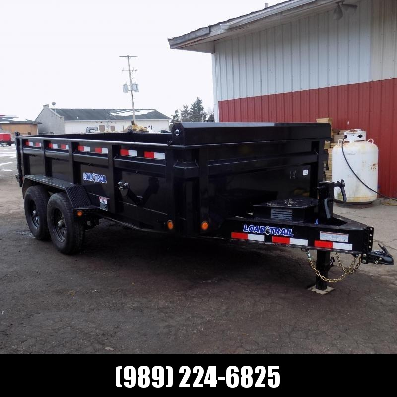 """New Load Trail 83"""" x 14' Dump Trailer for Sale - $0 Down & Payments from $135/mo. W.A.C. - Best Deal Guarantee"""
