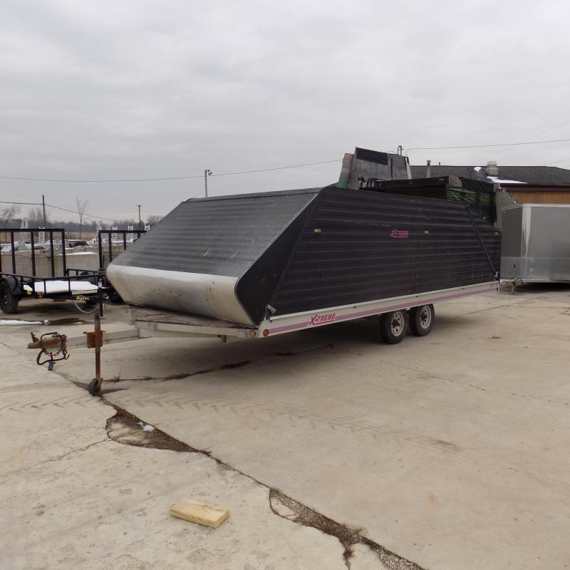 Used Extreme 10' x 22' Claimshell Snowmobile Trailer For Sale