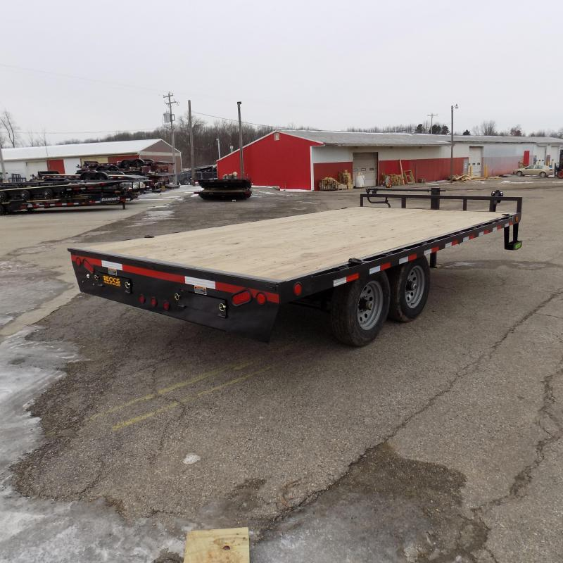 "New Load Trail 102"" x 16' Deckover Trailer for Sale- $0 Down $102/mo W.A.C."