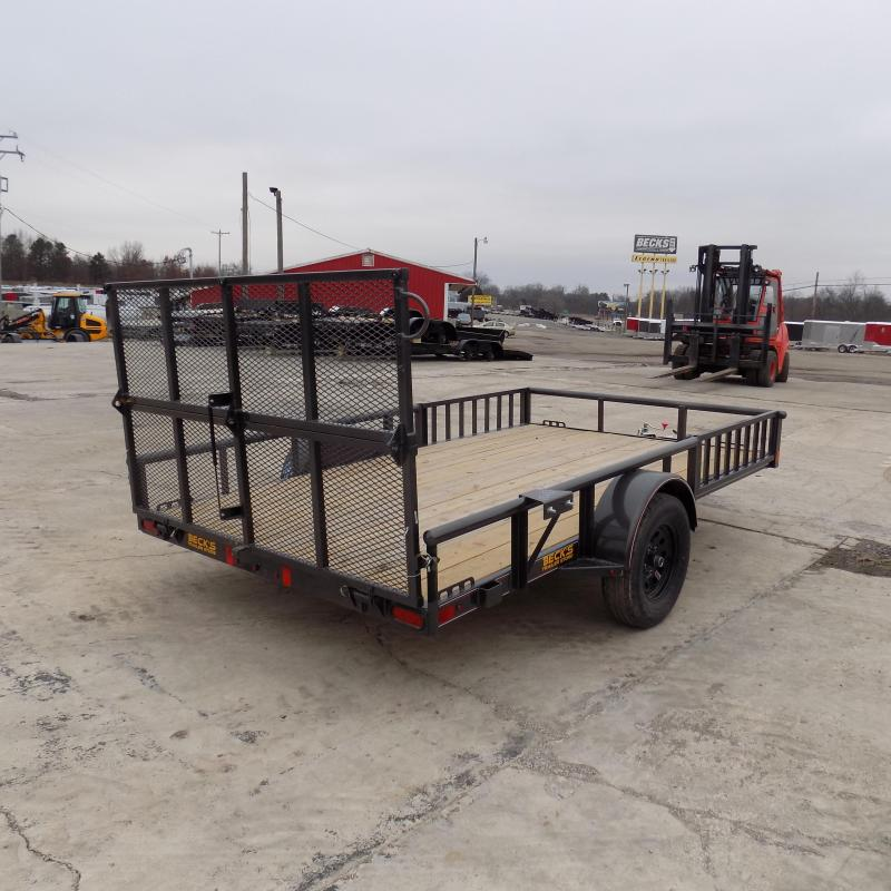 """New Diamond C 83"""" x 12' Utility Trailer With Side Load Ramps - $0 Down Financing Available - Best Deal Guarantee"""
