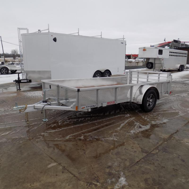 New Legend Open Deluxe 6' X 12' Aluminum Utility Trailer - $0 Down Payments From $60/mo W.A.C.