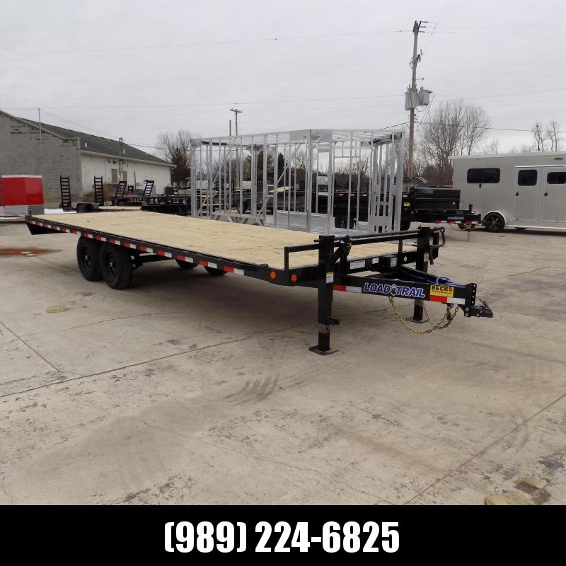 """New Load Trail DK14 102"""" x 24' Deckover Trailer for Sale - $0 Down & Payments From $109/mo. W.A.C. - Best Deal Guarantee"""