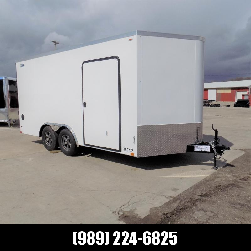 New Legend Cyclone 8.5' x 18' Enclosed Car Hauler / Cargo Trailer for Sale - $0 Down Payments From $129/Mo W.A.C.