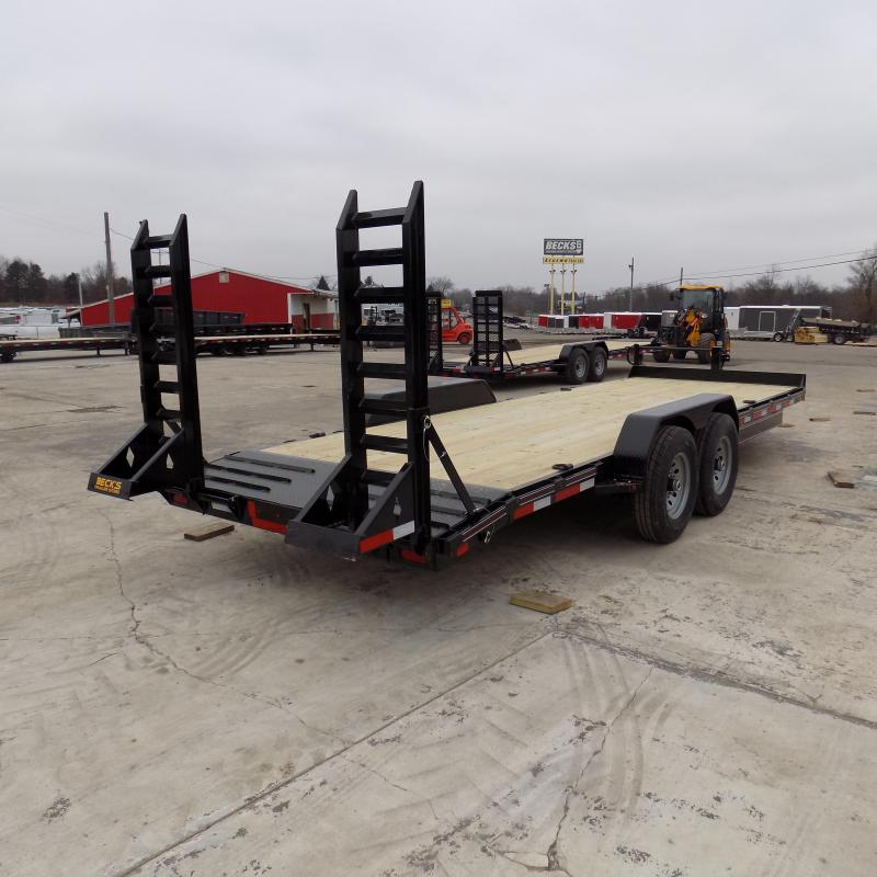 """New Diamond C Trailers 82"""" x 22' Equipment Trailer For Sale - Flexible Financing Options From $99/mo. W.A.C."""